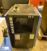 Kaeser TA5 Refrigerant Dryer, serial number 1400, year 2011 (please note there is a lift out fee