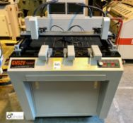 Gronhi GH52V Cross Locking Auto Plate Punch, 240volts, year 2011 (please note there is a lift out