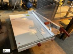Ideal 1071 manual Paper Guillotine/Trimmer, 700mm