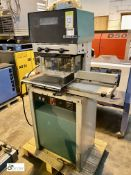 Citoborma 480AB 4-spindle Paper Drill, serial number 891238, 415volts (please note there is a lift