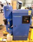 Hydrovane HV04ACE10-NSP2144 Air Compressor Set, with integrated vertical air receiving tank, 11bar