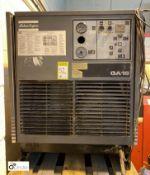 Atlas Copco GA18 Compressor, 44712hours, 7.5bar max working pressure, serial number AII215665 (