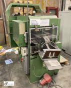 Kugler 340-1 automated high speed Hole Punch, serial number 496-340 (located a separate Wakefield