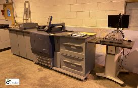 Konica Minolta Bizhub C7000 Digital Press, impressions 411,797/45,717 (please note there is a lift