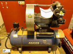 Kaeser EPC840-100 receiver mounted Compressor, 10bar max working pressure, serial number 1267 (