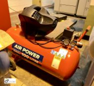 Sealey Air Power mobile receiver mounted Air Compressor, 8bar max working pressure, 240volts (please