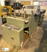 Tec-Graf S82 Book Splitter/Saw, with twin lane delivery, serial number 519, year 1991 (please note