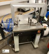 M60A semi auto Ram Bundler/Strapping Machine, 240volts, serial number 05070167 (please note there is