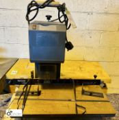 Spinnit EBM2UK single head Paper Drill, 240volts, serial number 1882 (please note there is a lift