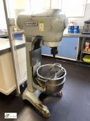 Hobart SE302 floor standing Planetary Food Mixer, 240volts, with bowl and mixing paddle (in Kitchen)