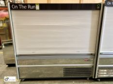 Williams C180-SCS mobile shutter front Chilled Food Display Unit, 1860mm x 690mm x 1810mm high,