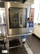 Lainox HME101P Combi Oven, 1000mm wide x 860mm deep x 1100mm high, 400volts, with stainless steel