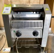 Burco BC TSCBV01 stainless steel Conveyor Toaster, 240volts (LOCATION: Stanningley, Leeds)