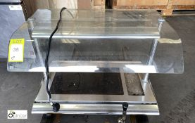 Hatco Serv-Rite heated countertop Servery Unit, 800mm wide, 240volts (LOCATION: Stanningley, Leeds)