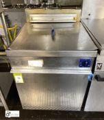Stott Benham Autofry 600 twin basket Deep Fat Fryer, gas fired, 600mm x 700mm x 860mm (in