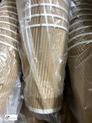 9 boxes 8oz Ripple Cups, black, 500 per box and 5 boxes 16oz Ripple Coffee Cups, Kraft, 500 per box,