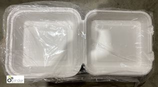 40 boxes 600ml Boxes, 500 per box, B161