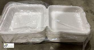 21 boxes 8in Boxes, 300 per box, B133