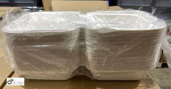 35 boxes Burger Boxes, 500 per box, B132