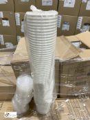 2 boxes 26oz Soup Cups, white, 500 per box, 2 boxes 16oz Soup Cups, white, 500 per box and 4 boxes