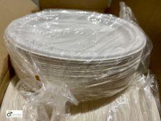 34 boxes 9in Round Plates, 800 per box, B102