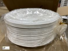 25 boxes 6in Round Plates, 1000 per box, D092