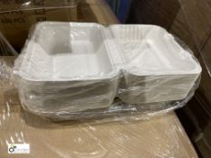 16 boxes 9in x 6in Burger Boxes, 300 per box, D102