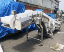SF stainless steel mobile powered Conveyor, 5600mm