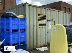 Containerised Steam Boiler, 6450mm x 3700mm x 3220