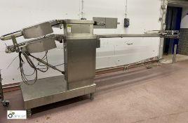 Weber CCE twin deck transport Conveyor, belt width