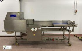 Burgess stainless steel Fruit Breaker, belt width