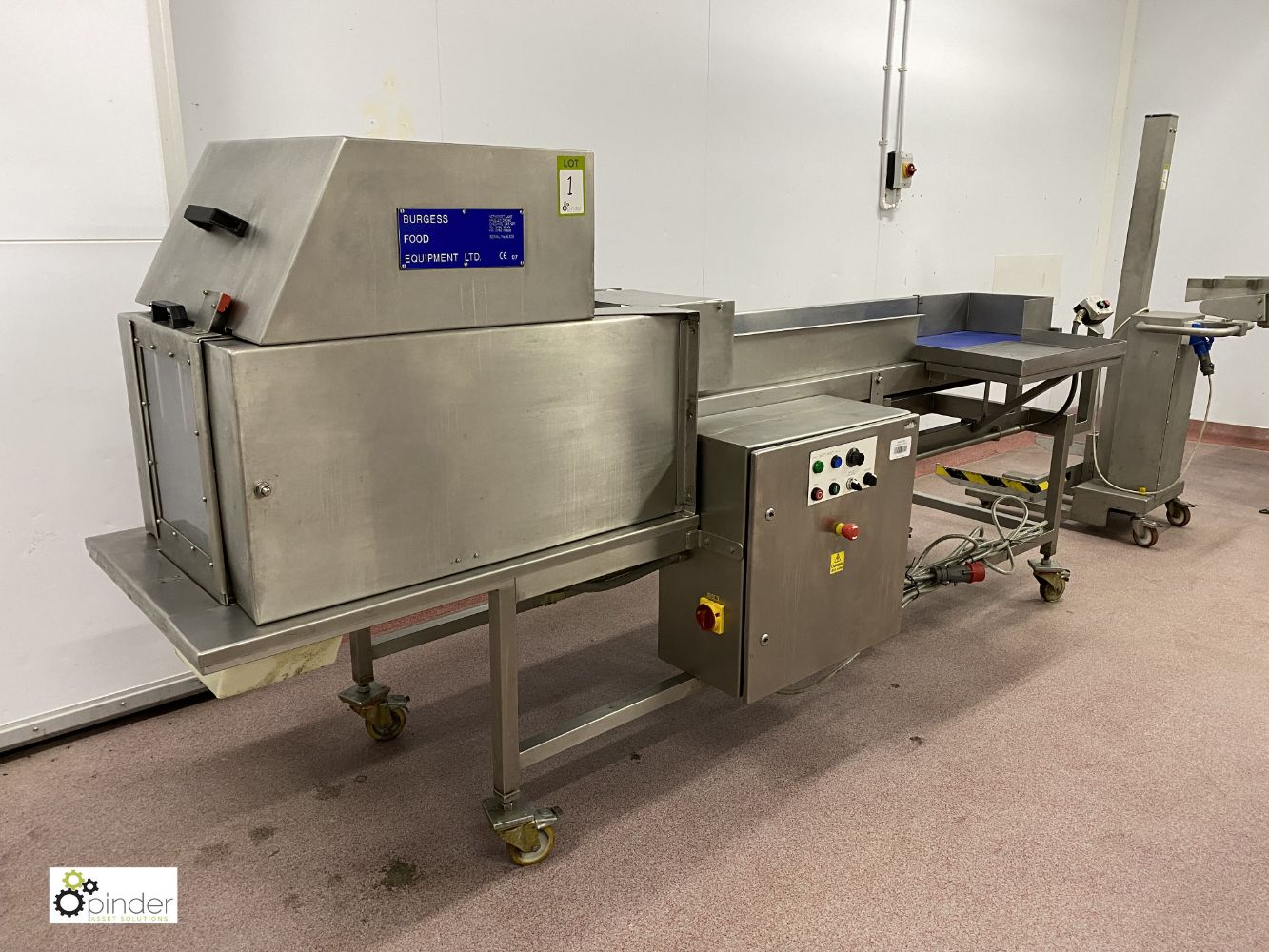 Food Processing, Handling and Checking Machinery, Stainless Vessels, Boiler, Generator and Compressors