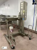 Syspal SCM1008 stainless steel mobile Bin Lift, 30