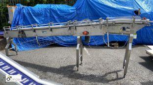 Kensal stainless steel narrow powered Conveyor, 39