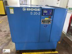 Boge S20-2 Packaged Air Compressor, swp 8bar, 15kw