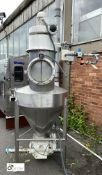 Stainless steel frame mounted Hopper Feed, with Ro