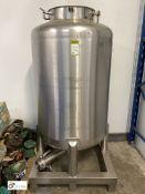 Wincanton stainless steel Tank, mounted on stainle