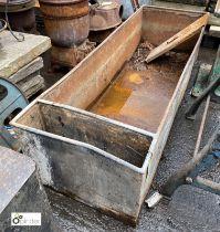 Steel Water Tank, 1840mm x 620mm x 450mm high (LOCATION: Sussex Street, Sheffield)
