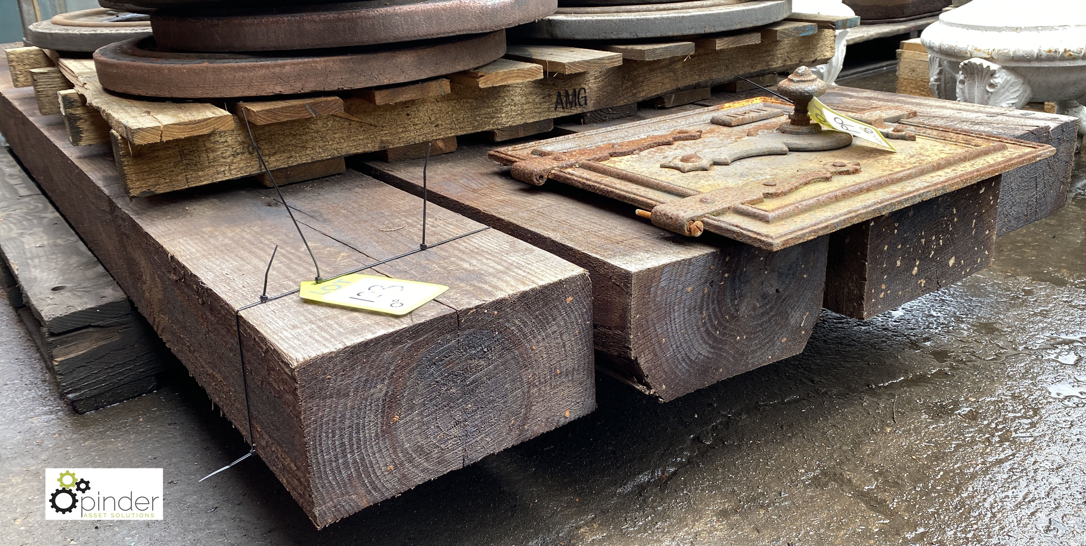 4 Railway Sleepers, 2600mm x 250mm x 135mm (LOCATION: Sussex Street, Sheffield) - Image 5 of 5