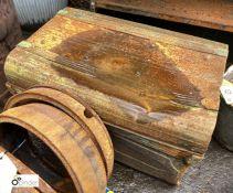 Steel Chest, 660mm x 450mm x 400mm (LOCATION: Sussex Street, Sheffield)