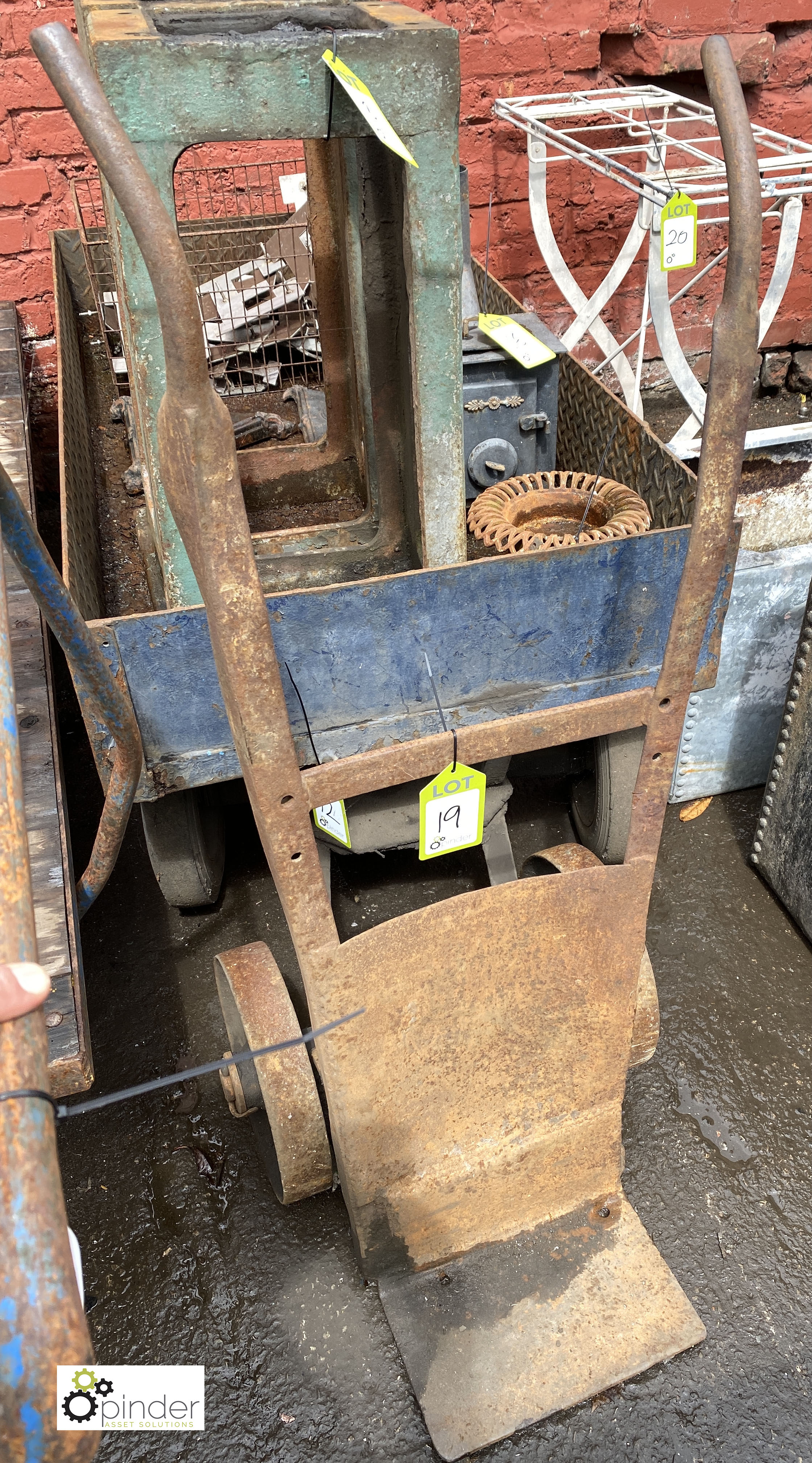 Cast iron Sack Cart (LOCATION: Sussex Street, Sheffield) - Image 3 of 3