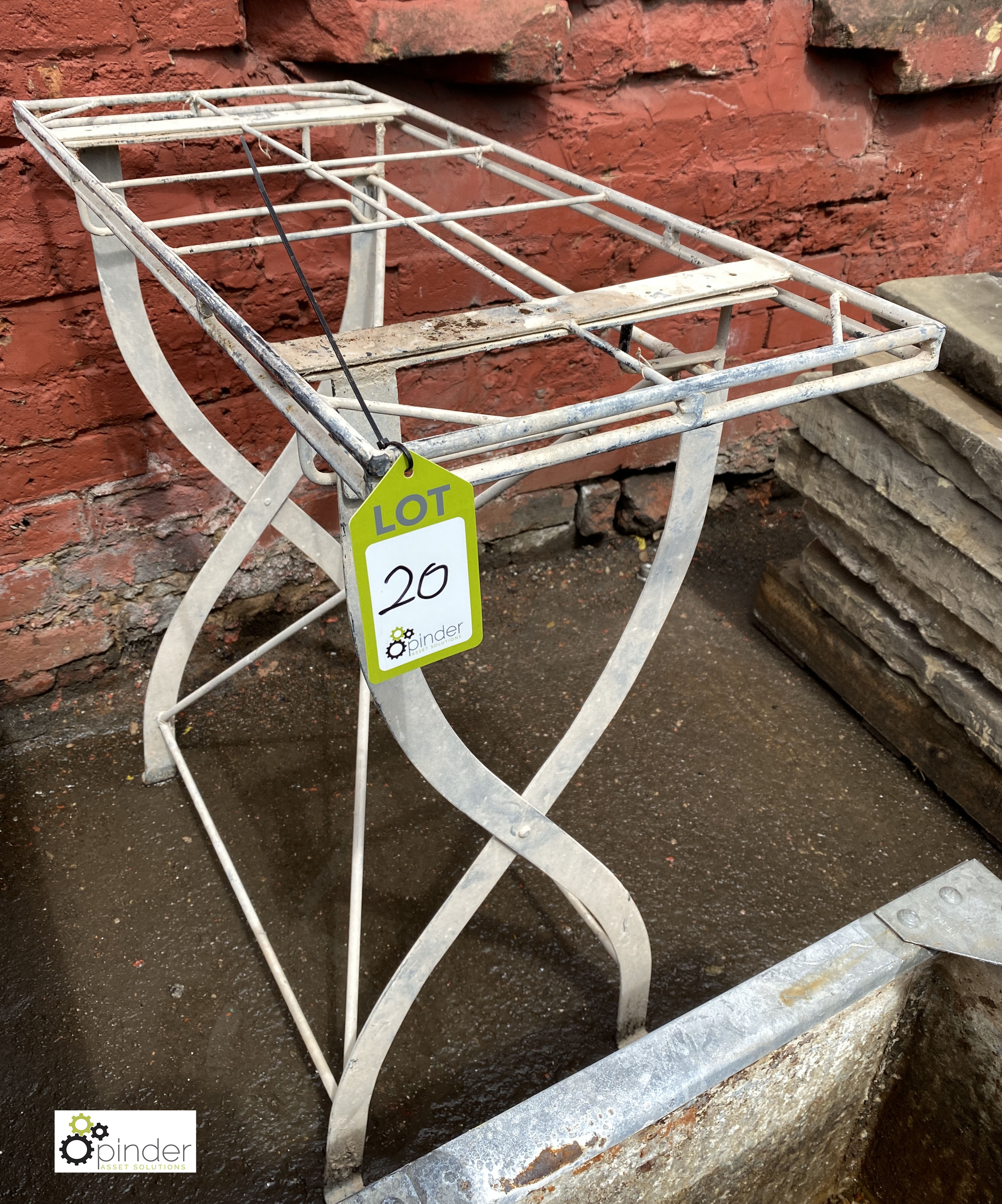Steel Stand, 870mm x 380mm x 860mm tall (LOCATION: Sussex Street, Sheffield) - Image 2 of 3
