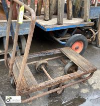 Steel framed Mill Cart, 840mm x 520mm (LOCATION: Sussex Street, Sheffield)