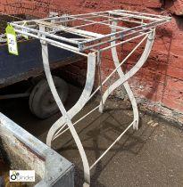 Steel Stand, 870mm x 380mm x 860mm tall (LOCATION: Sussex Street, Sheffield)