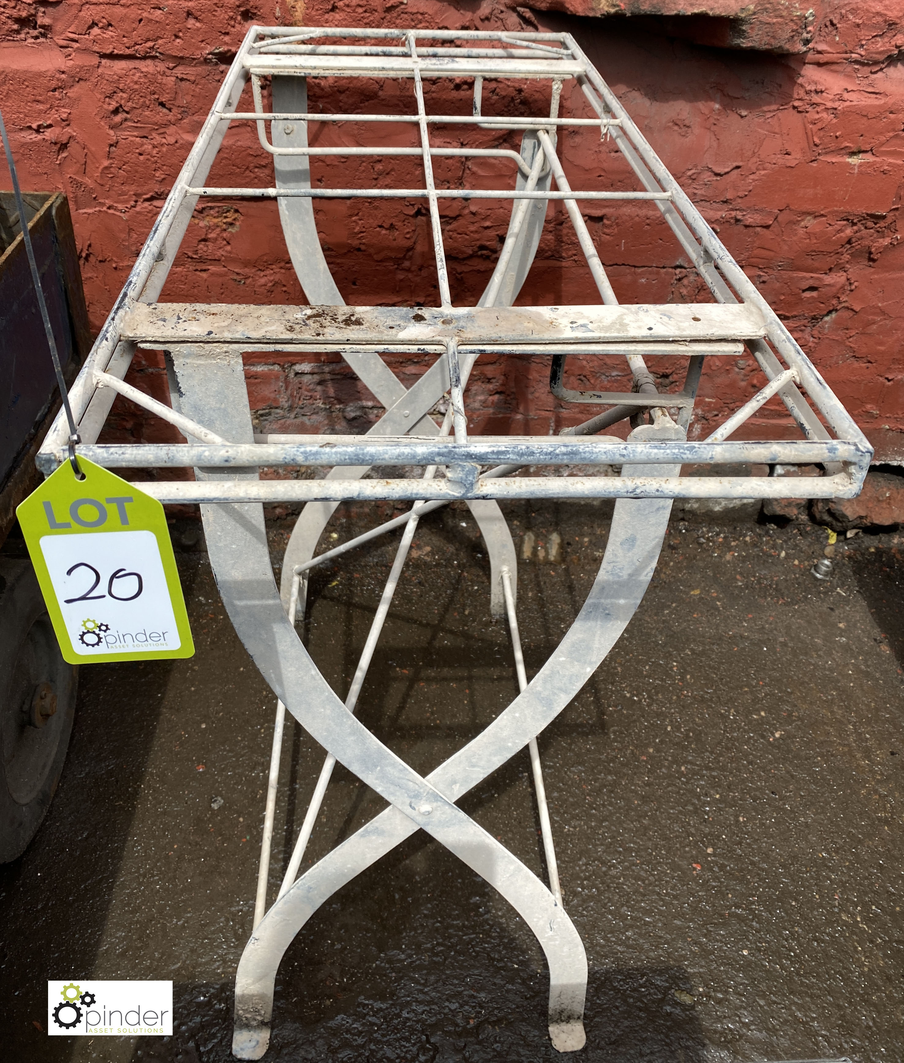 Steel Stand, 870mm x 380mm x 860mm tall (LOCATION: Sussex Street, Sheffield) - Image 3 of 3