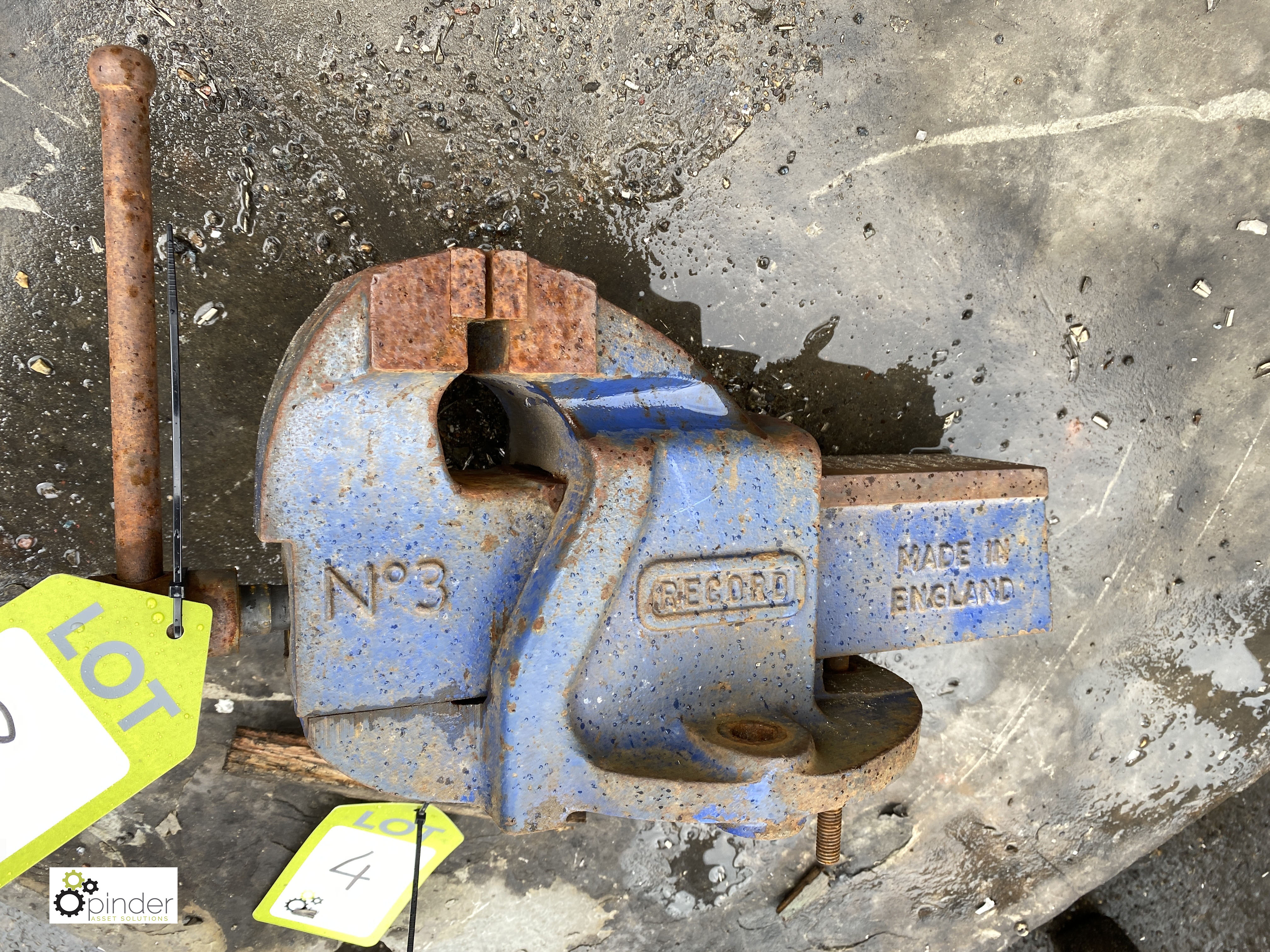 Record No3 Engineers Vice, 90mm wide (LOCATION: Sussex Street, Sheffield) - Image 2 of 2