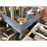 Steel towable Cart, 1530mm x 760mm (LOCATION: Sussex Street, Sheffield)