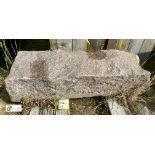 Granite Block, 890mm x 300mm x 210mm (LOCATION: Todwick, Sheffield)