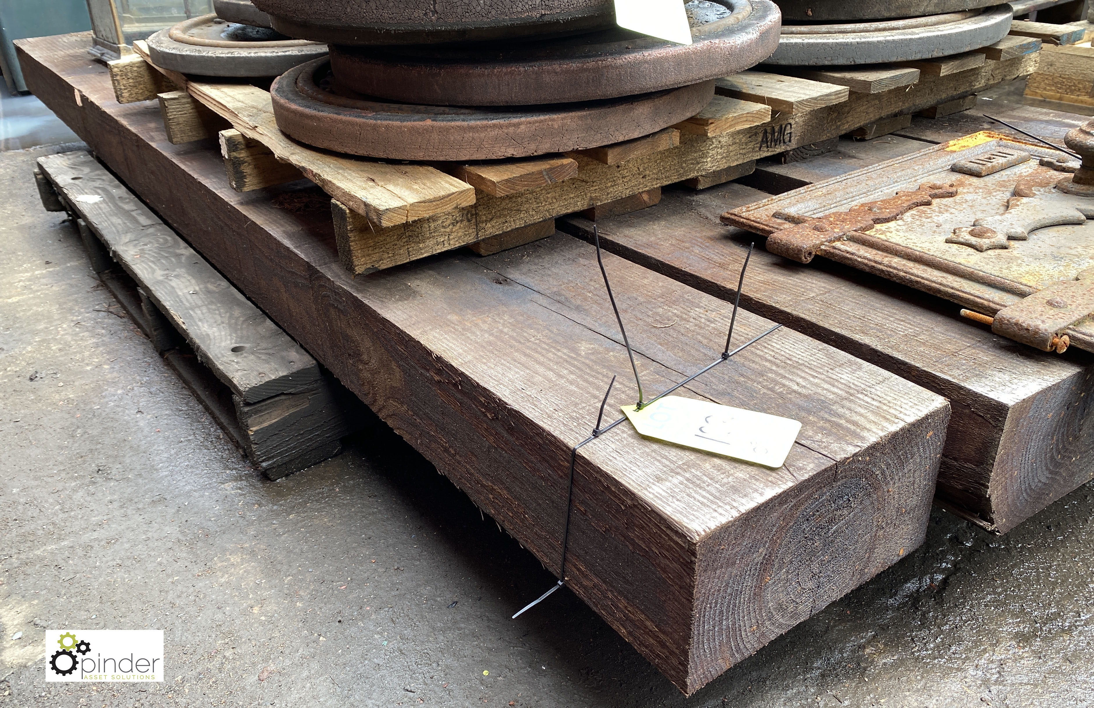 4 Railway Sleepers, 2600mm x 250mm x 135mm (LOCATION: Sussex Street, Sheffield) - Image 4 of 5