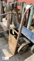 Cast iron Sack Cart (LOCATION: Sussex Street, Sheffield)